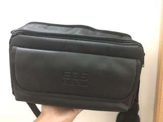 黑色 相機袋 兩格 camera bag