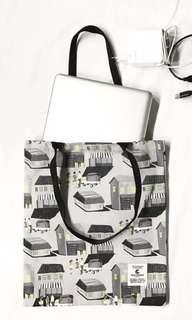 泰國清邁品牌 Playworks Canvas Bag 帆布袋環保袋 Tote Bag (多款圖案)