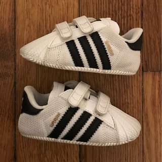 ADIDAS originals superstar crib trainers