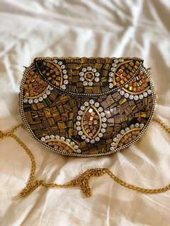 Handmade marble bag from India 🇮🇳(brown)
