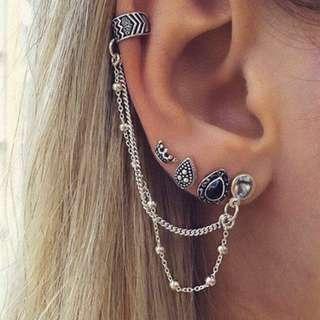 🧡 Earrings set #SJ50