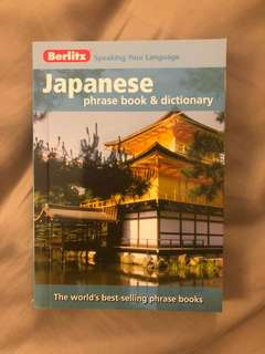 Japanese Phrase Book and Dictinary by Berlitz