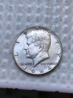 1964年美國錢幣