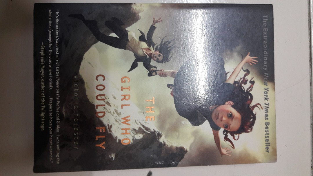 the girl who could fly author