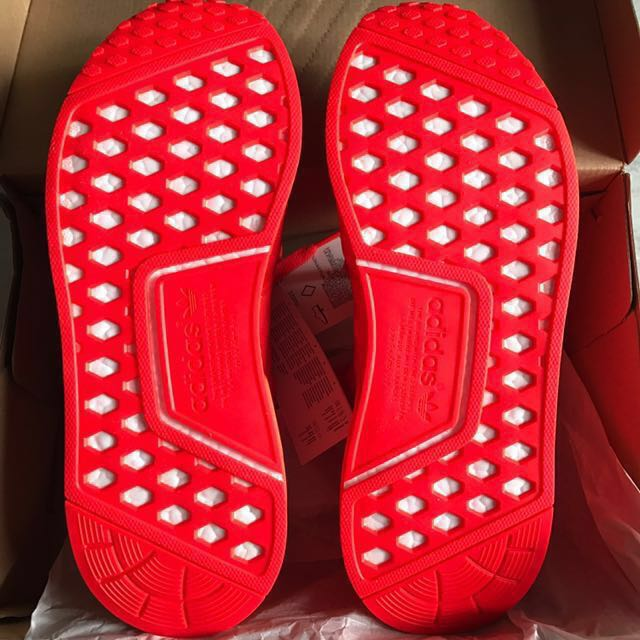 abae362c4e9c1 Adidas NMD R1 Triple Red US 10.5 UK 10 brand new 100% Authentic off white  palace supreme lv louis vuitton