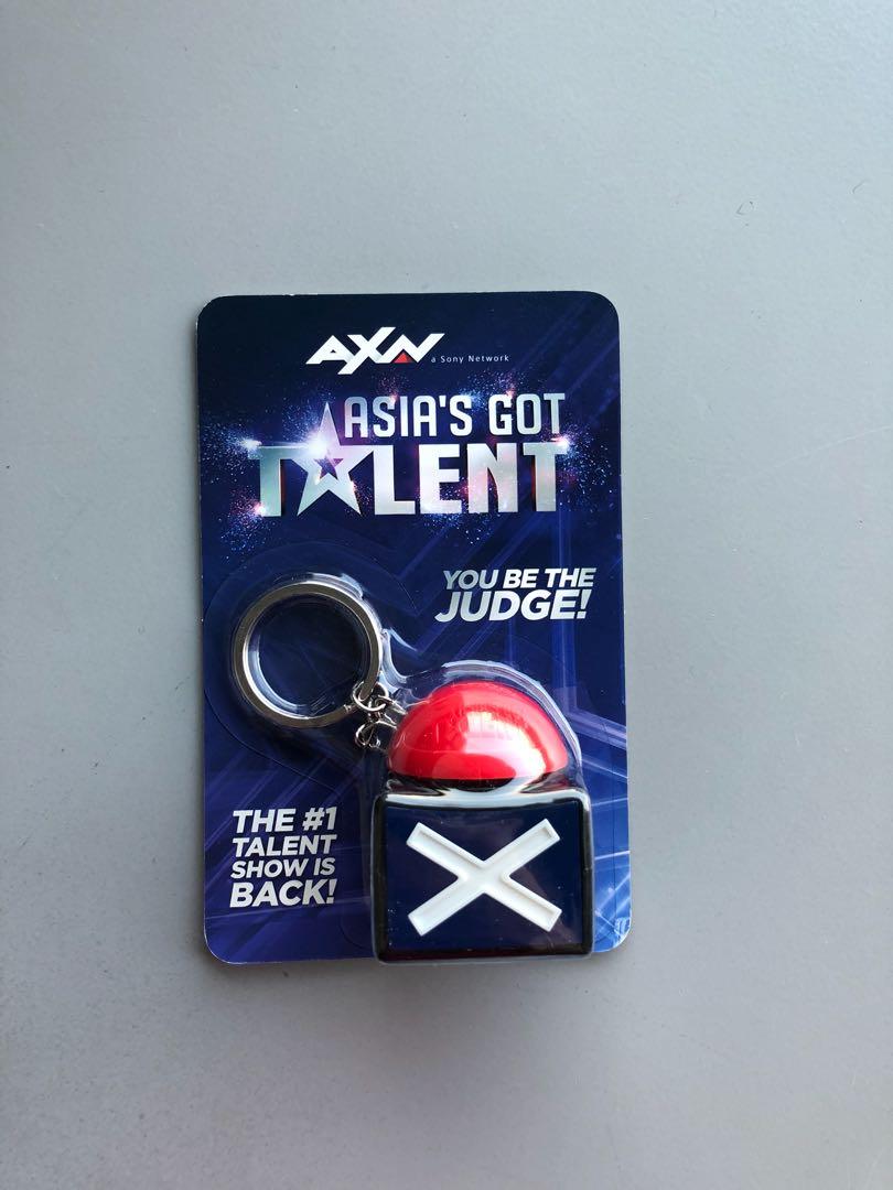 Asia Got Talent buzzer key chain