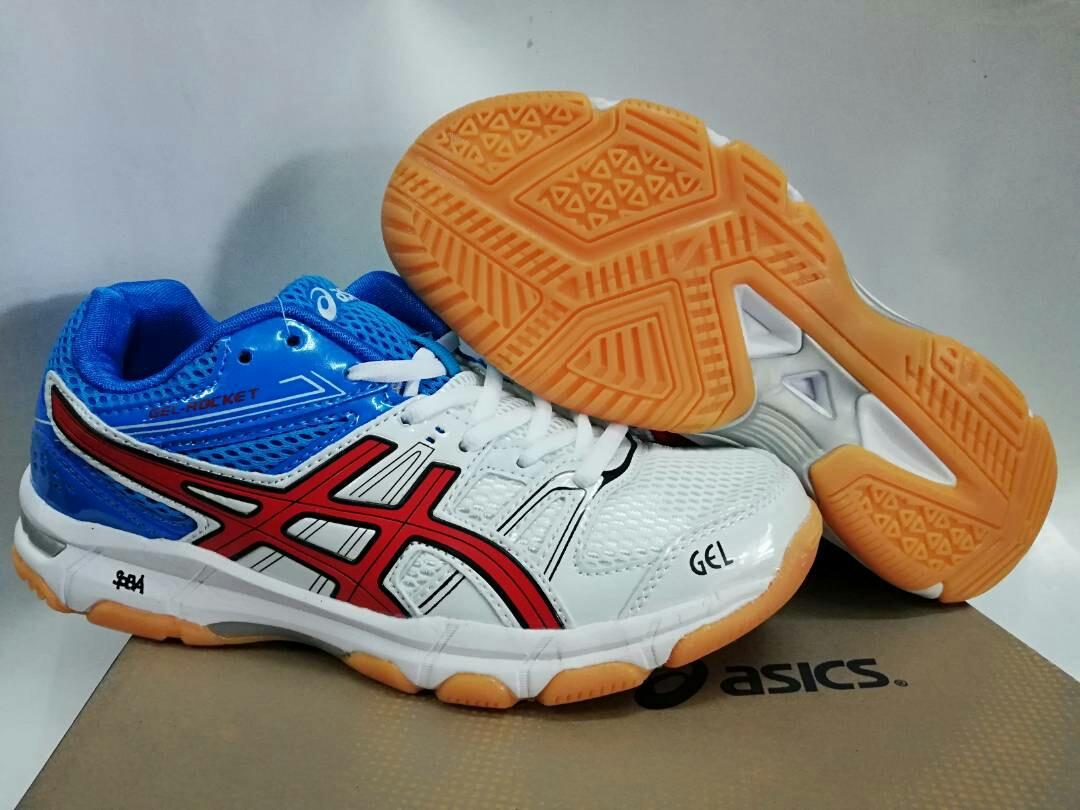 4d9bc3191f0f Asics Gel Rocket Badminton Shoes