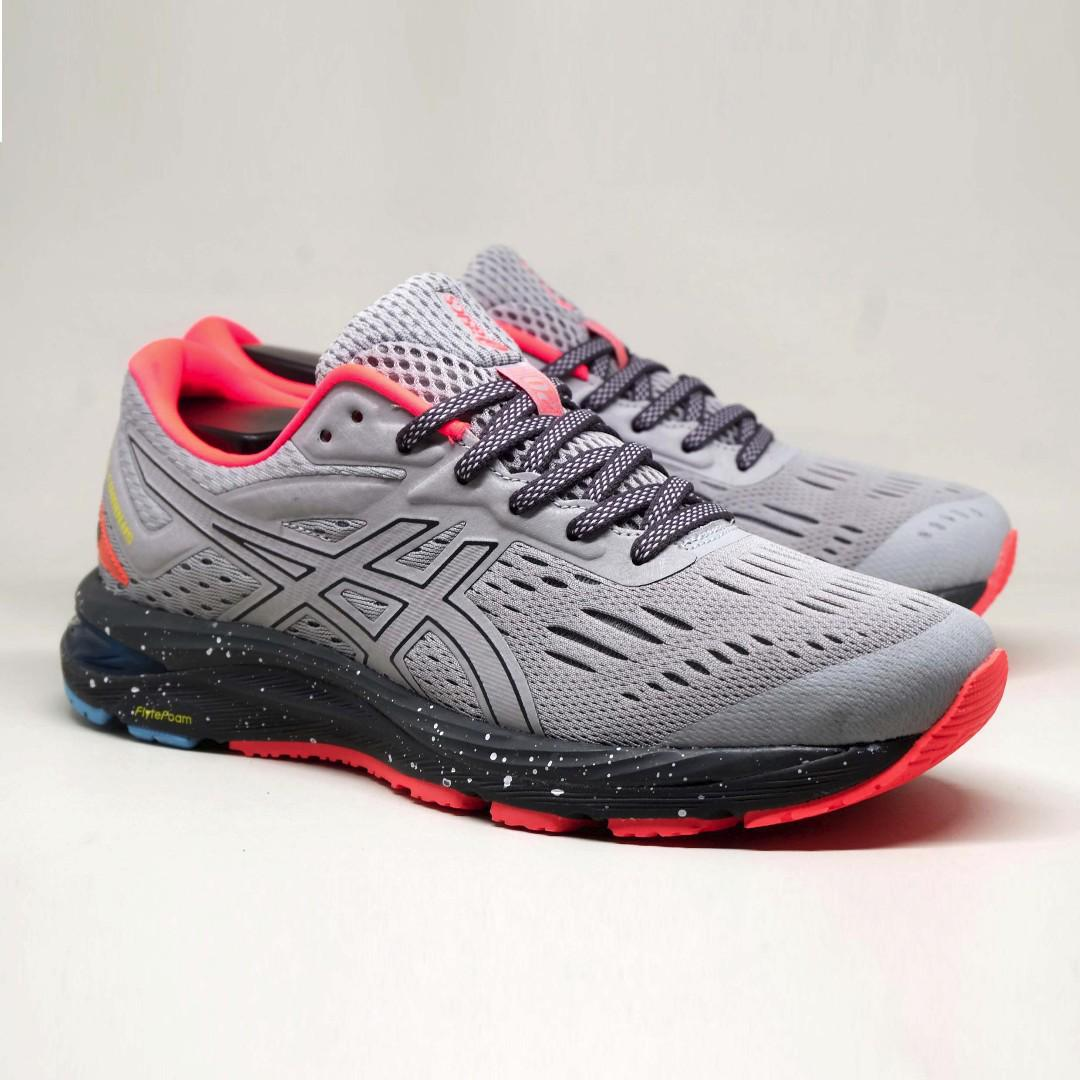 70c2a0f7ec Asics GEL-CUMULUS 20 LE MId Grey Dark Grey Original, Men's Fashion ...