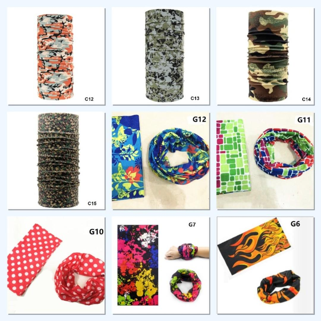 Bandana/ Multi Function Scarf/ Head Neck Wear/ Outdoor scarf