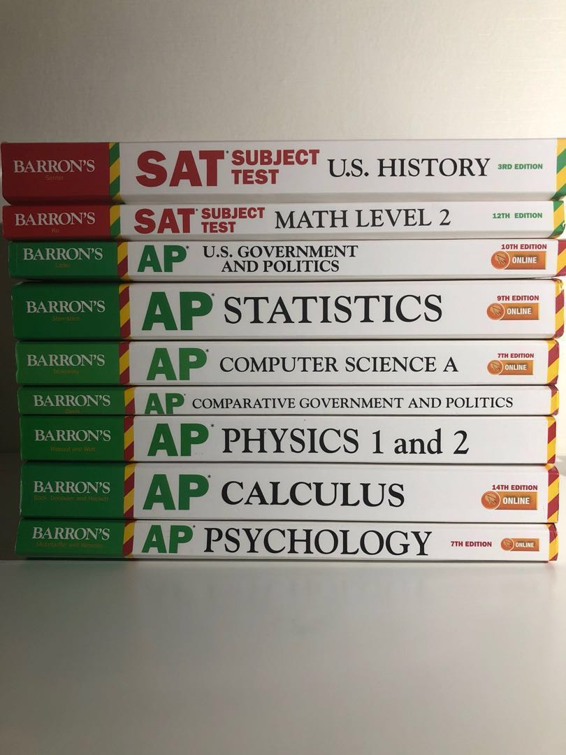 Barron S Sat And Ap Test Preparation Books Books Stationery