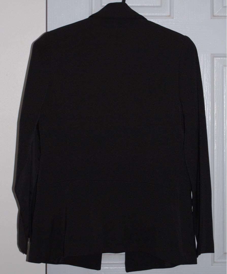 Black Tailored Jacket - Target EUC