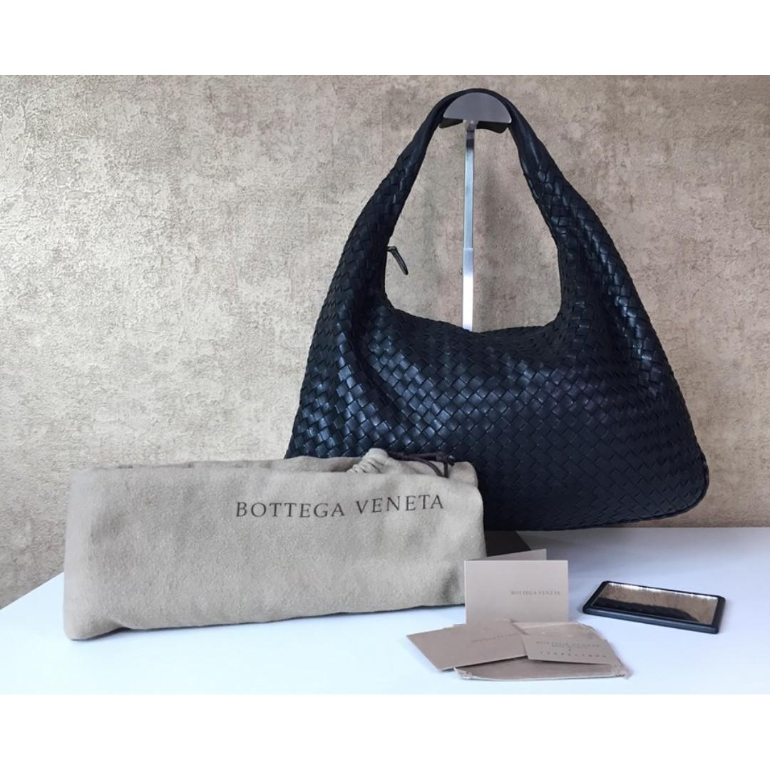 087e80868e53d BOTTEGA VENETA 115654 VENETA LARGE LEATHER HOBO BAG, Luxury, Bags ...