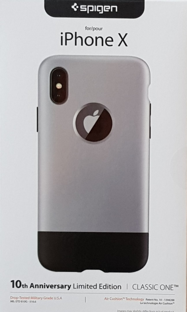 huge discount 857bf 08fd5 Brand new authentic Spigen Classic One Case for iPhone X