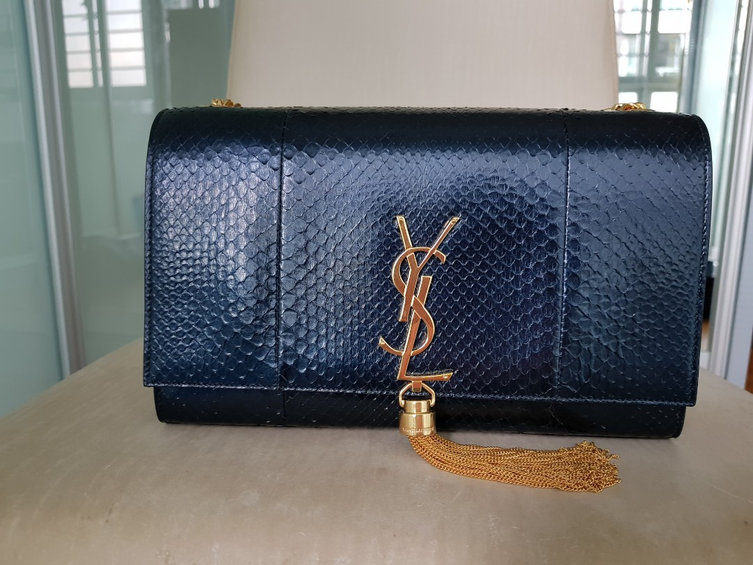 2ee32073f898 Brand new rare YSL (Yves Saint Laurent) medium kate chain and tassel ...