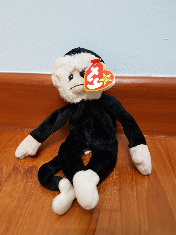 dddb4b3be9f Collectible - TY Beanie Mooch the Monkey