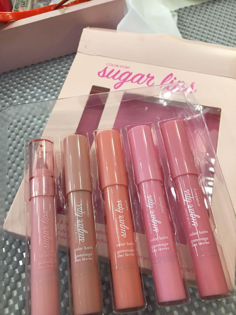 Color Story Sugar Lips Health Beauty Makeup On Carousell