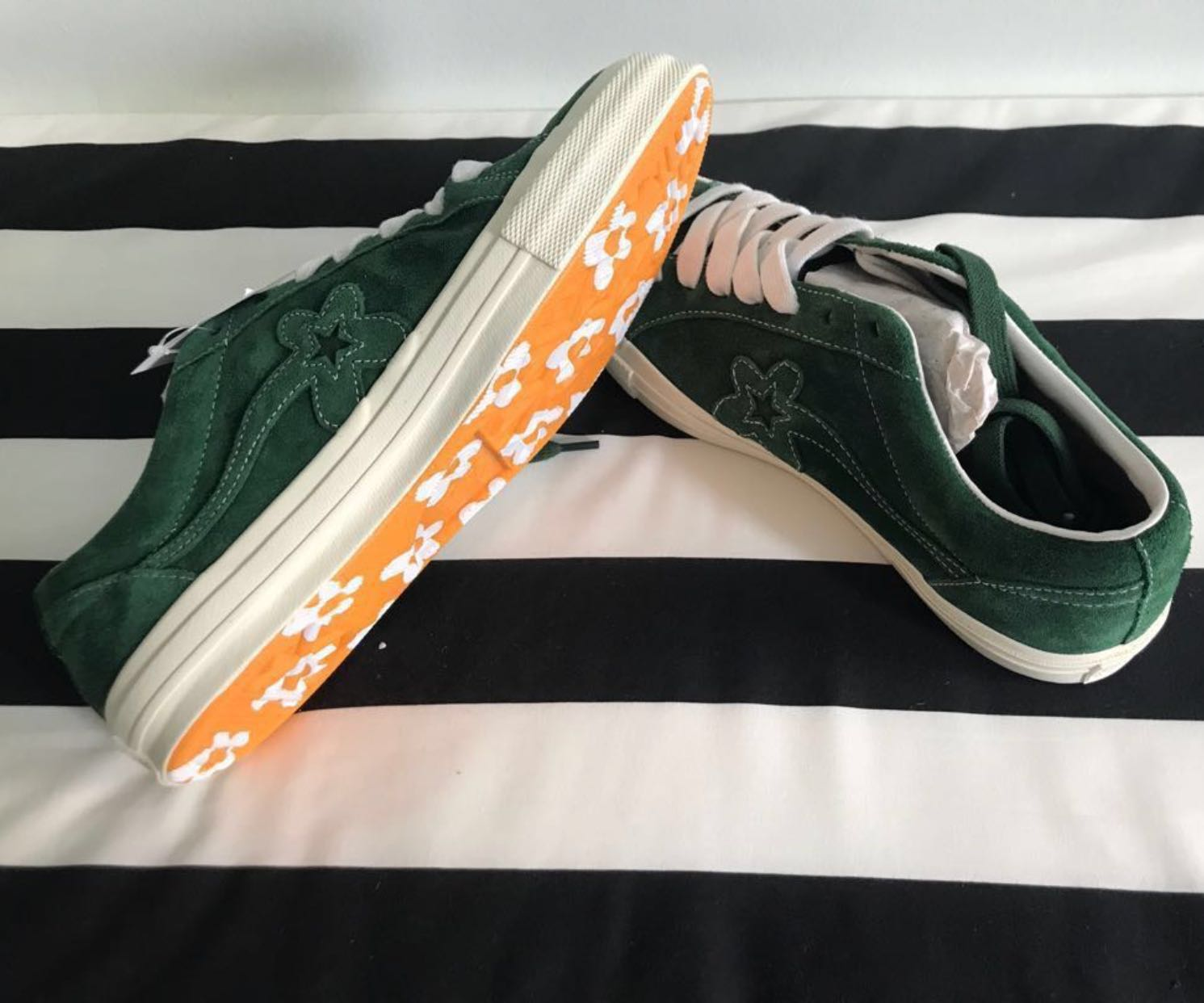 4b9a74bfb556 Converse One Star Golf Le Fleur Mono Green