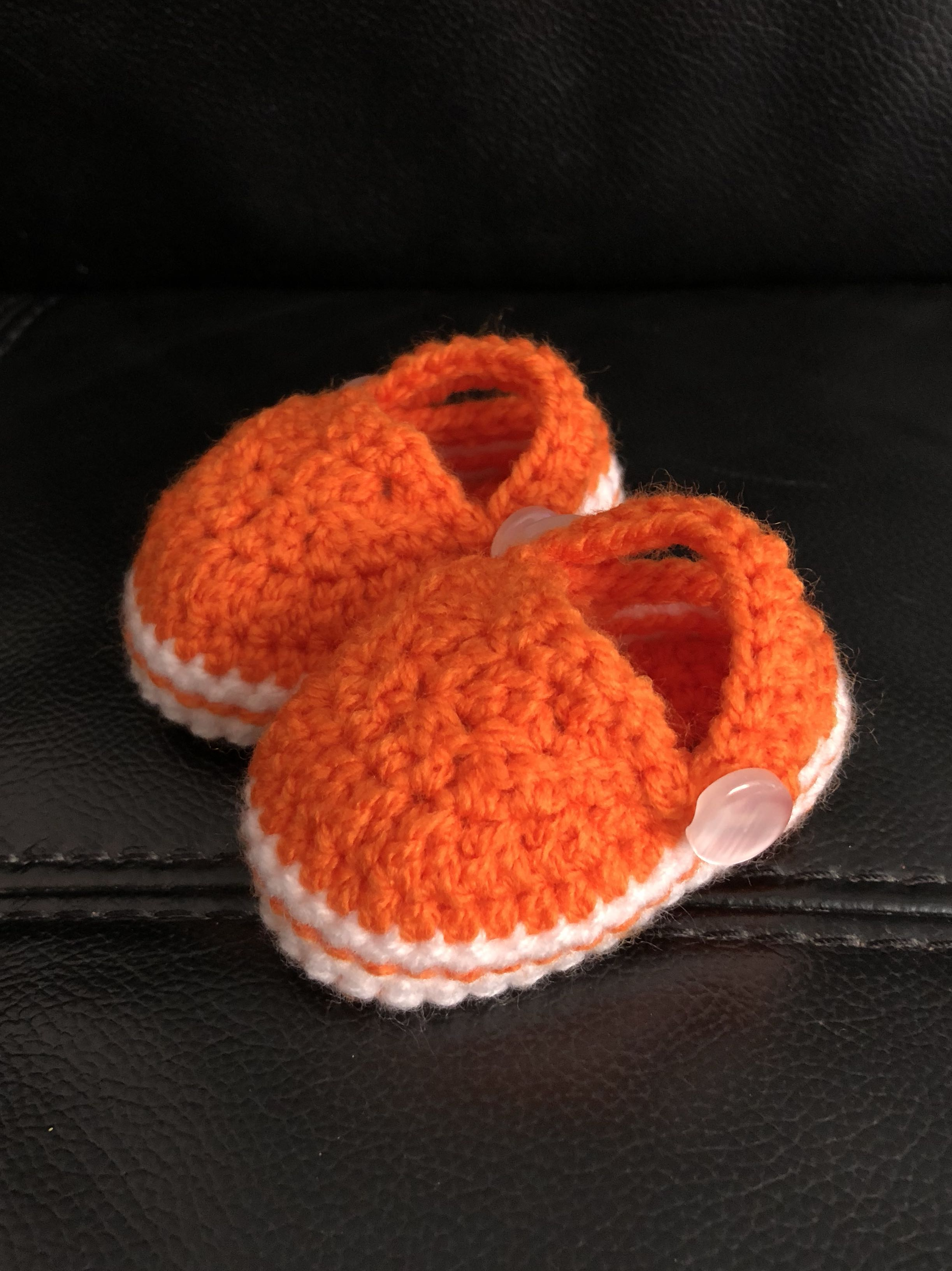 Crochet Baby Shoes Crocs Inspired Babies Kids Babies Apparel On