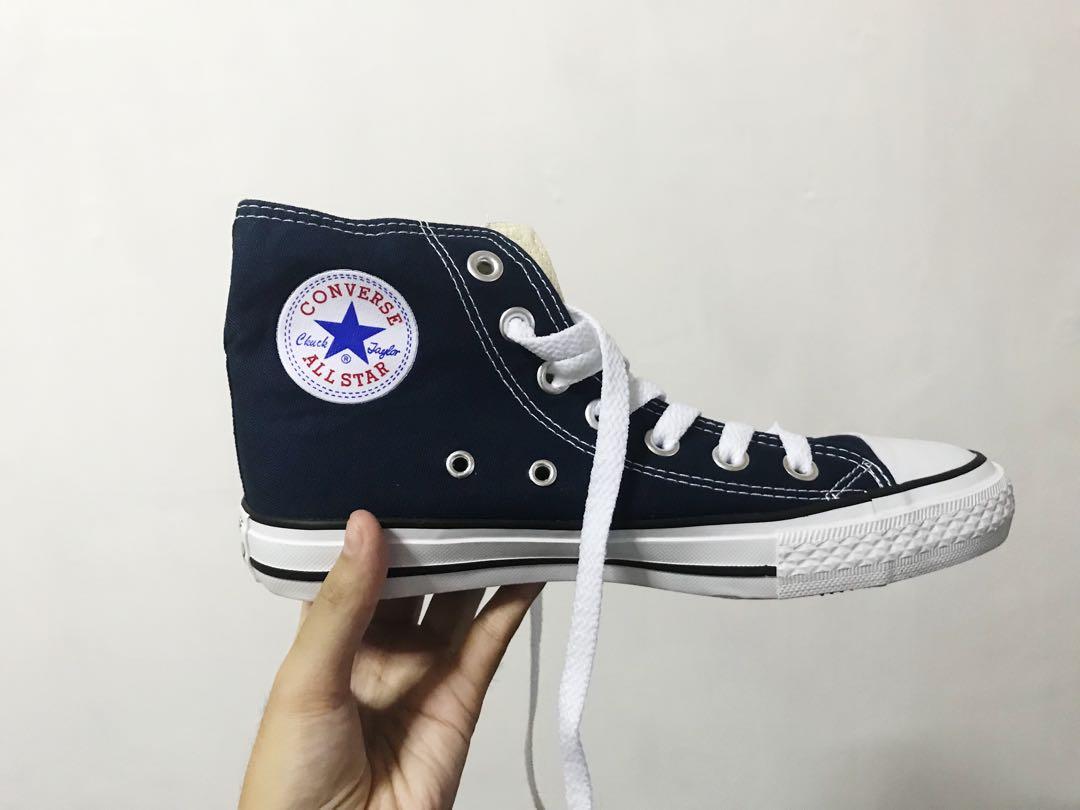 Dark Blue Converse High Cut, Women's