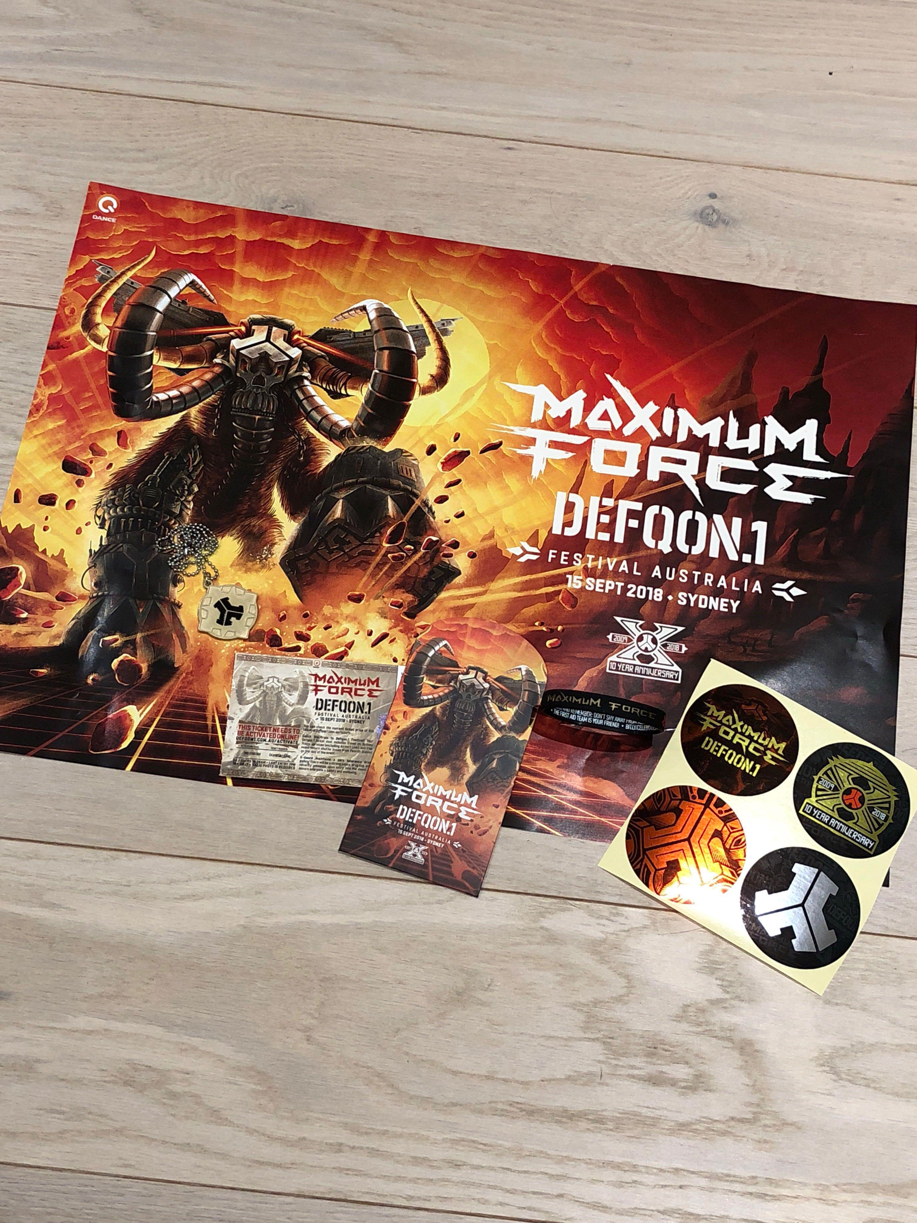 DEFQON HARDCOPY TICKET, Tickets & Vouchers, Others on Carousell