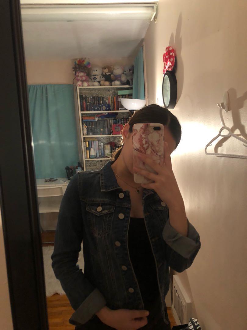 Denim Jacket // Size XS