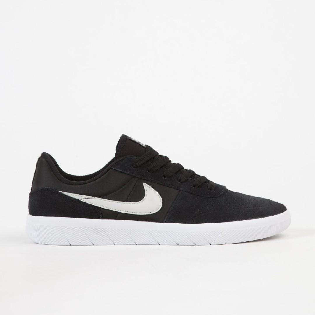 3d700f32fd87 FLASH SALE) Nike SB Team Classic Shoes - Black   Light Bone - White ...