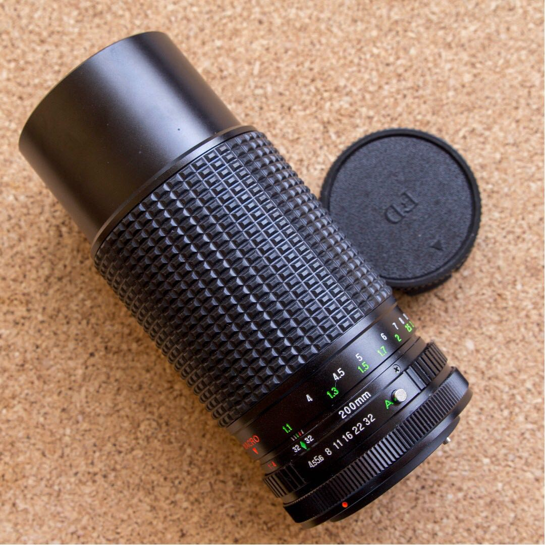 For Ae 1s Tou Five Star 200mm F45 Lens Fd Mount Photography 3rd Brand Nikon Cap Modern 62mm Highest Quality Lenses On Carousell