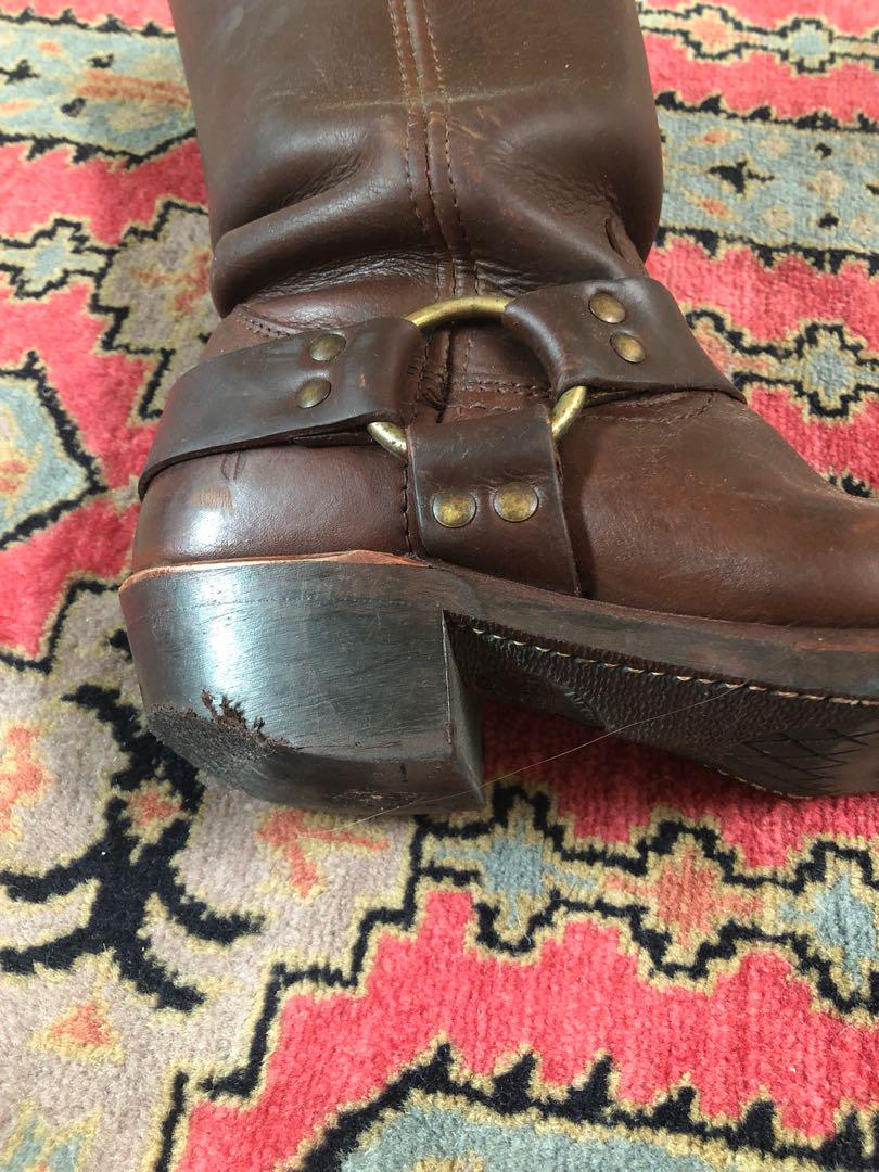 Frye boots 7.5 - well worn - see photos