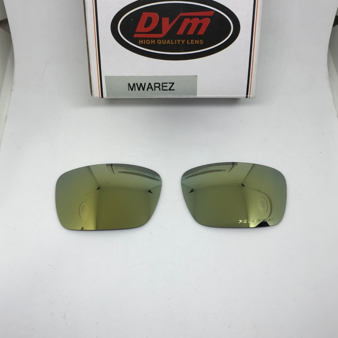 f06a49ee321 FUEL CELL GOLD POLARIZED Dym REPLACEMENT LENSE for Oakley Fuel Cell  Sunglasses
