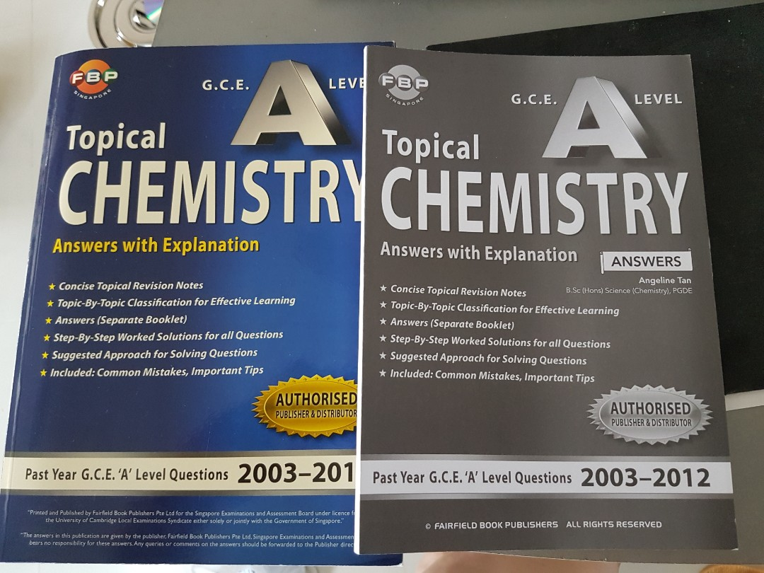 GCE A level Chemistry Q & A