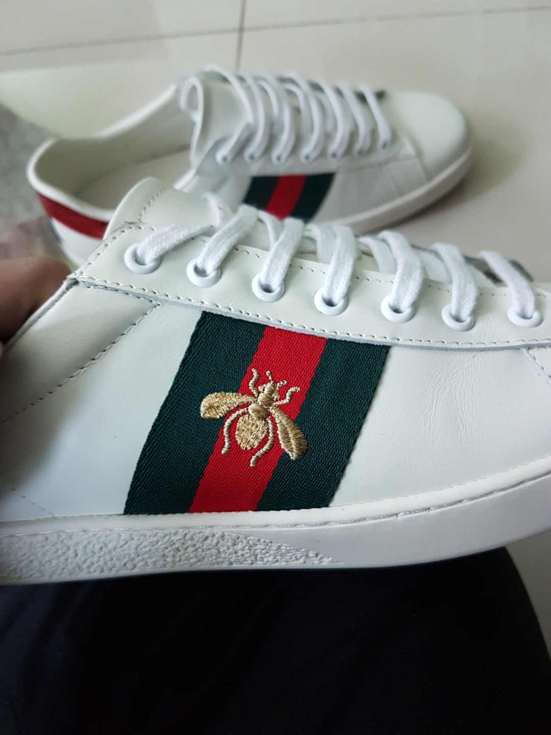 070339a0917e9 Gucci Ace Inspired Sneakers Premium Quality