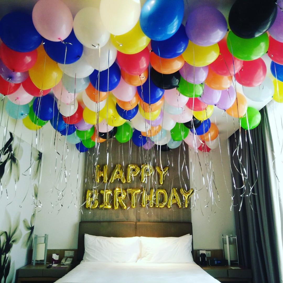 Happy Birthday Surprise, Design & Craft, Others On Carousell