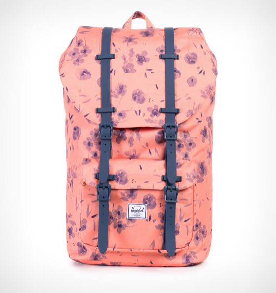 0bef7053f13 Instock  Herschel Little America Backpack 25L - Ruby Coral
