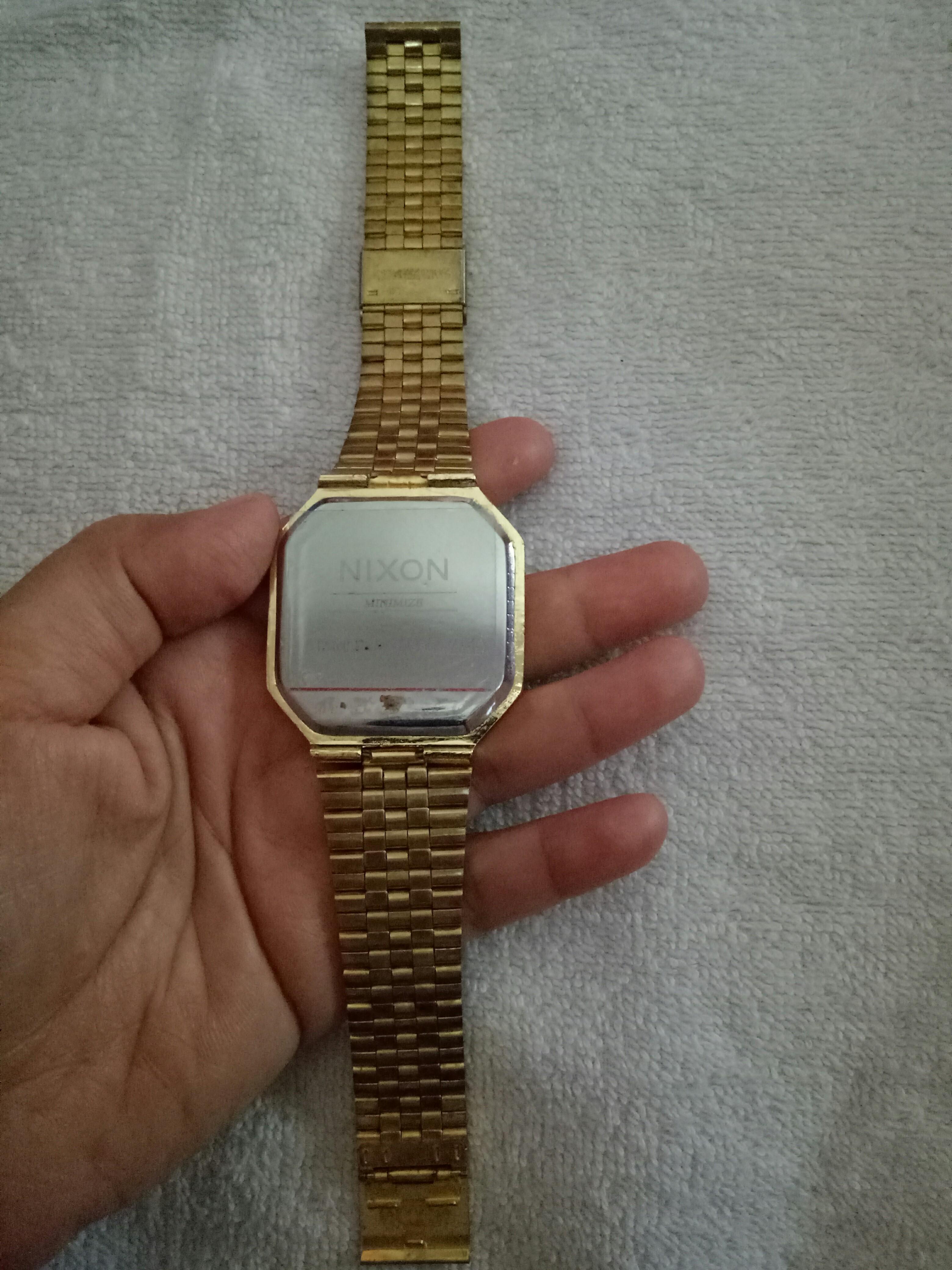 Jam tangan NIXON RE-RUN ALL GOLD