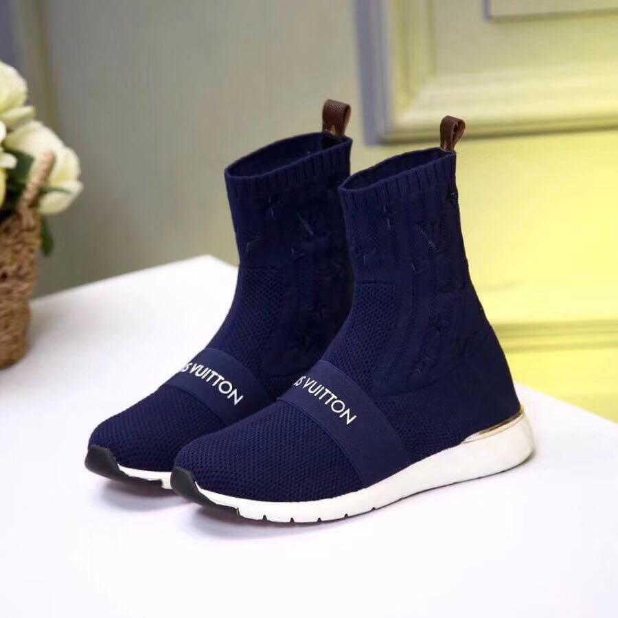 c7c752ae05e Louis Vuitton Aftergame Sneaker Boot on Carousell