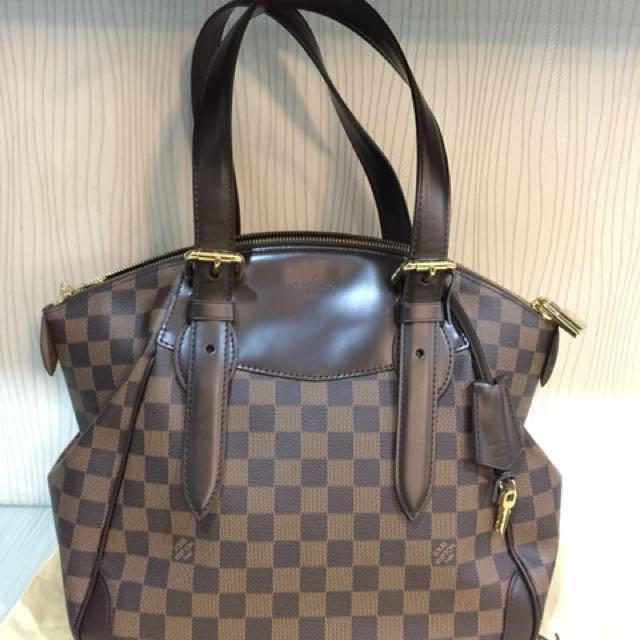 fe588a1c7c54 Louis Vuitton N41118 Verona MM Damier Ebene