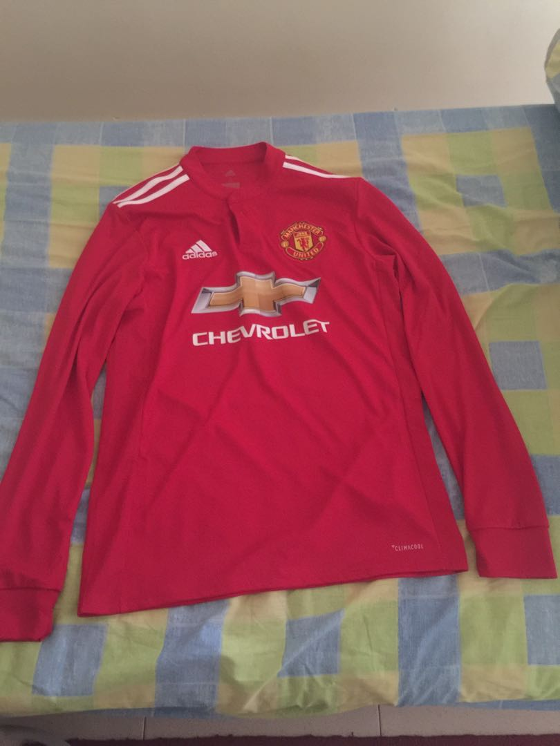 finest selection f8a4e b2161 Manchester United Jersey long sleeve