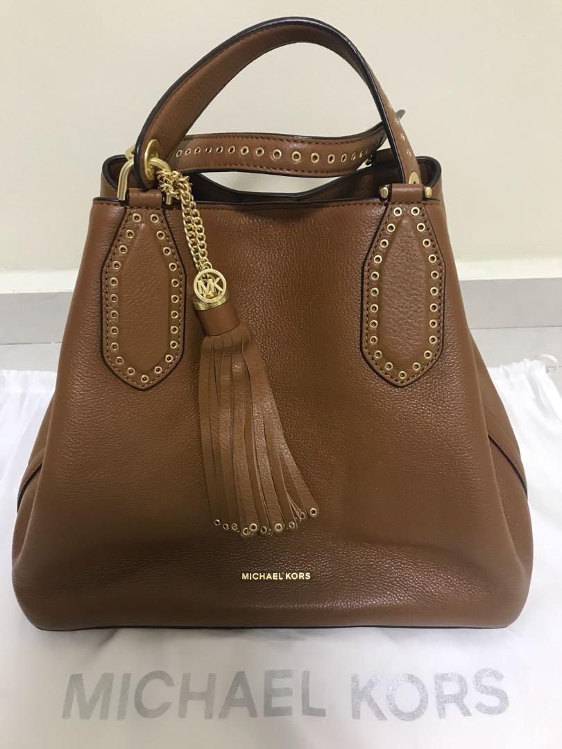 78df9501b67f Michael Kors Brooklyn Large Grab Bag