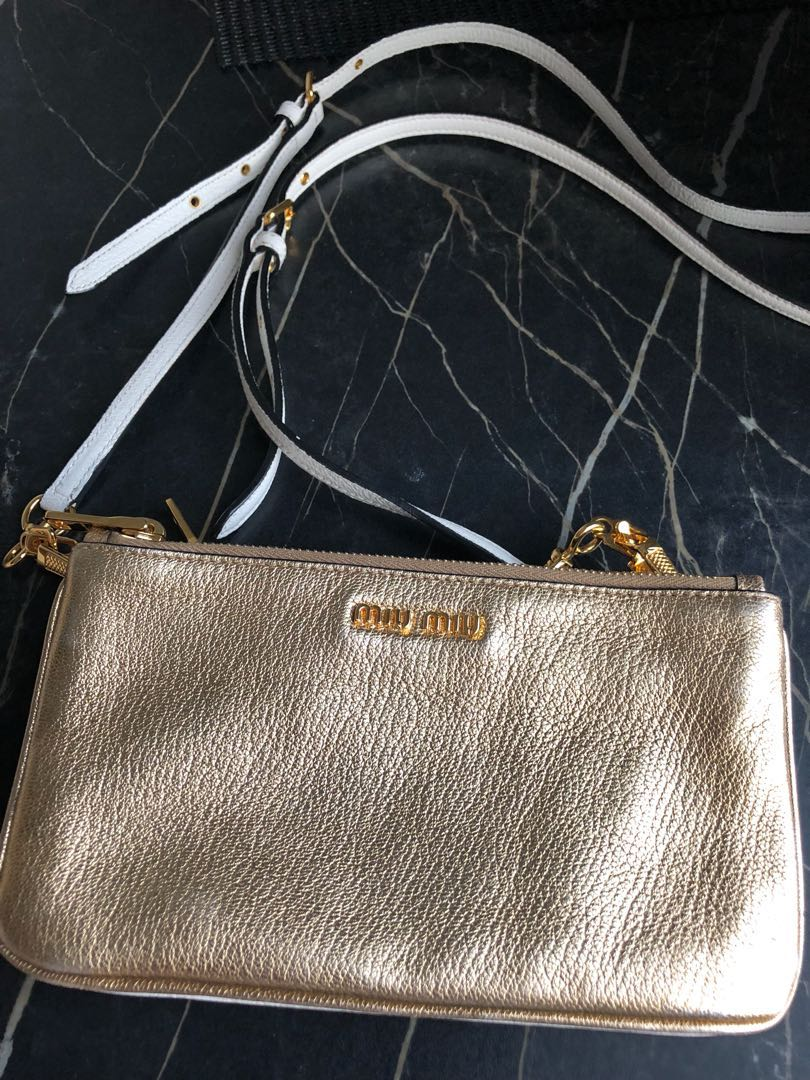 Miu Miu Double-Zip Crossbody Bag 9b39ce0b69c99