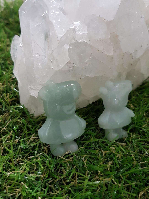 ⭐Pendant GradeA Myanmar Jade (Peppa Pig)