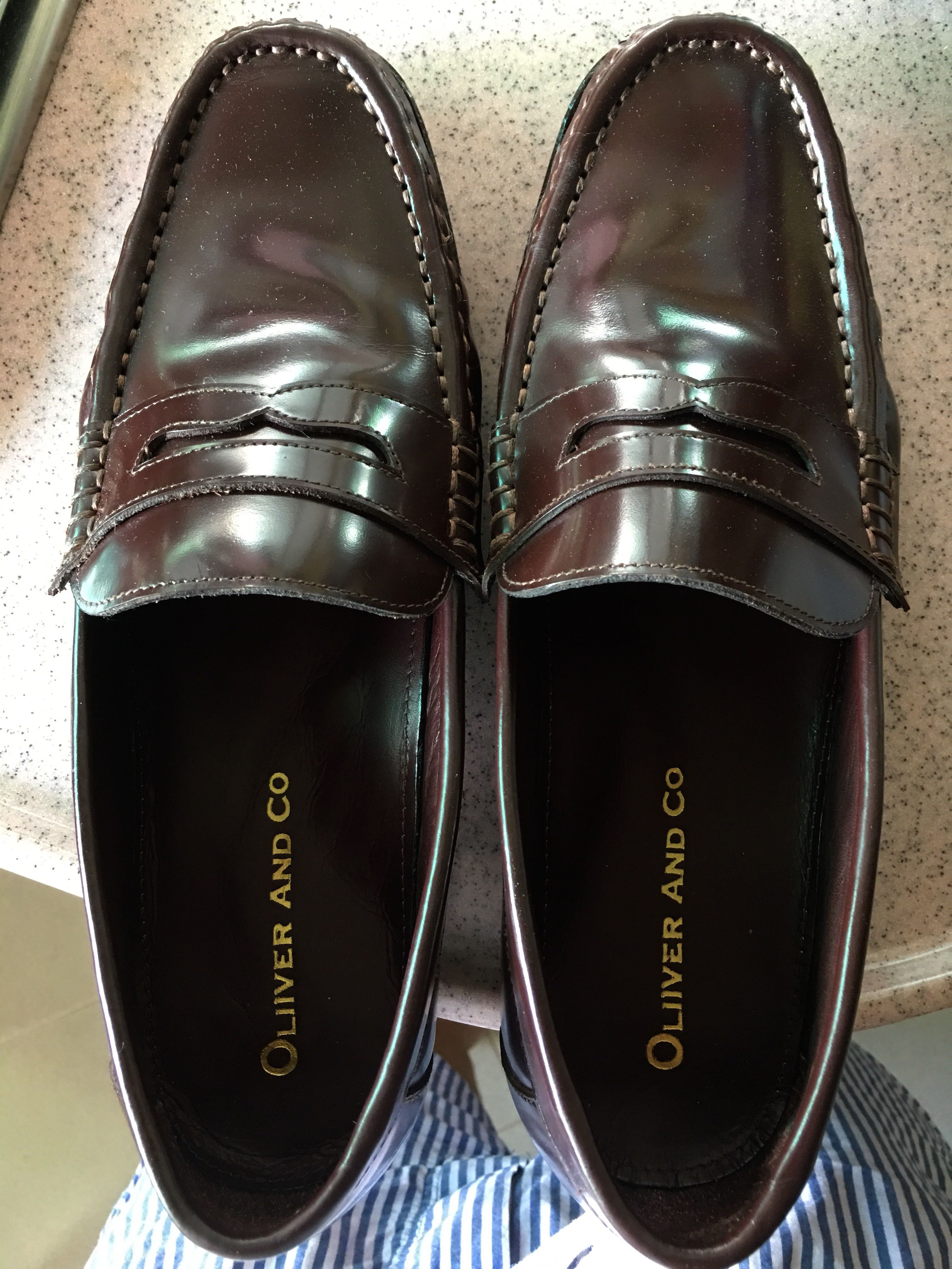 aab96bfca74 Penny Loafers Vintage - Oliver and Co.
