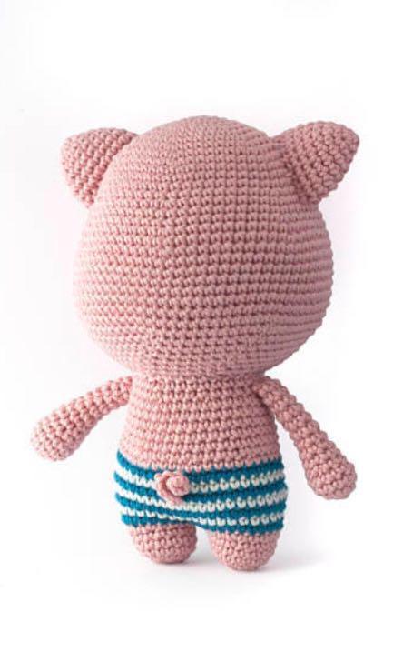 Amazon.com: Chef Piggy Pig: Amigurumi Crochet Pattern ... | 739x444
