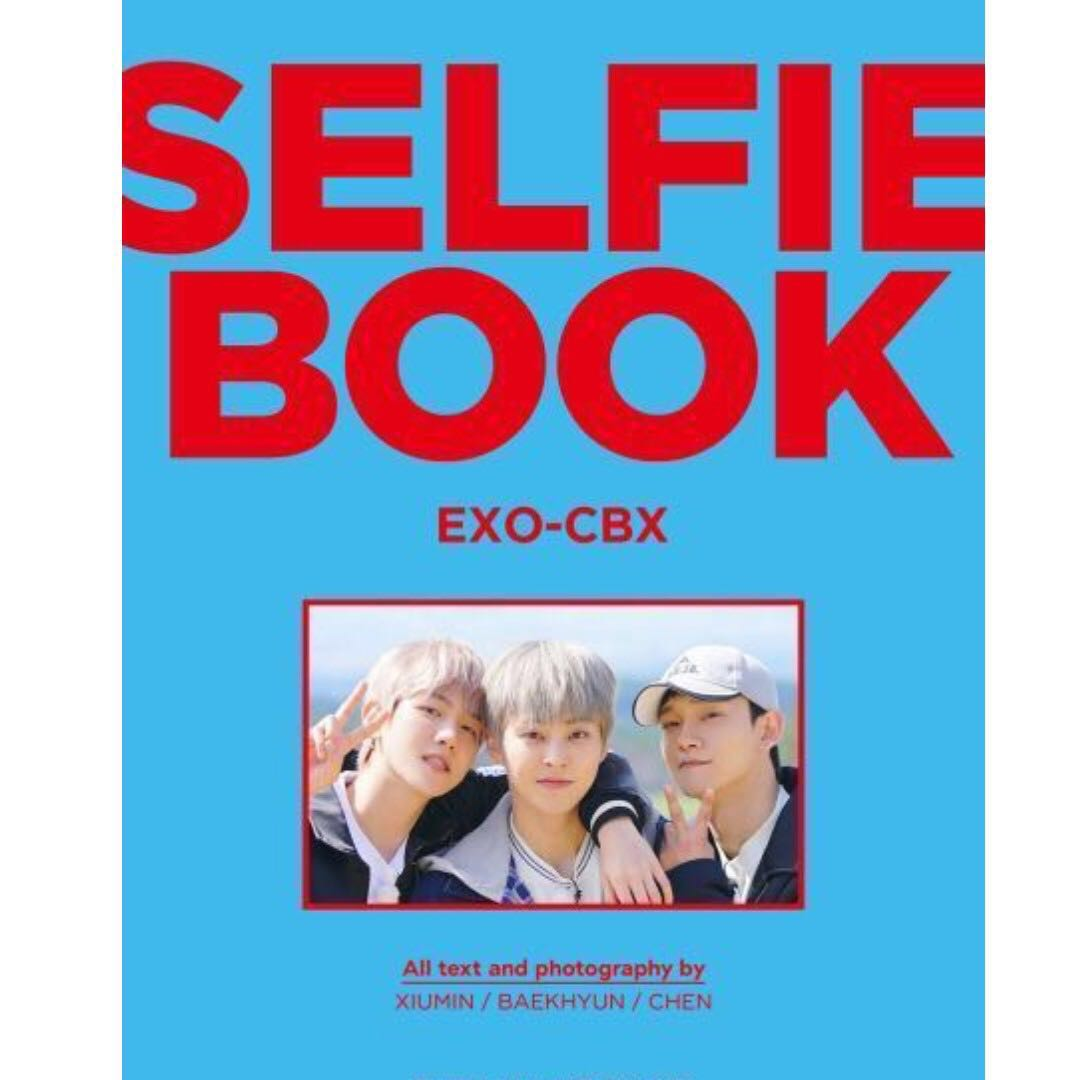 Po Closed Exo Cbx Selfie Book Entertainment K Wave On Carousell