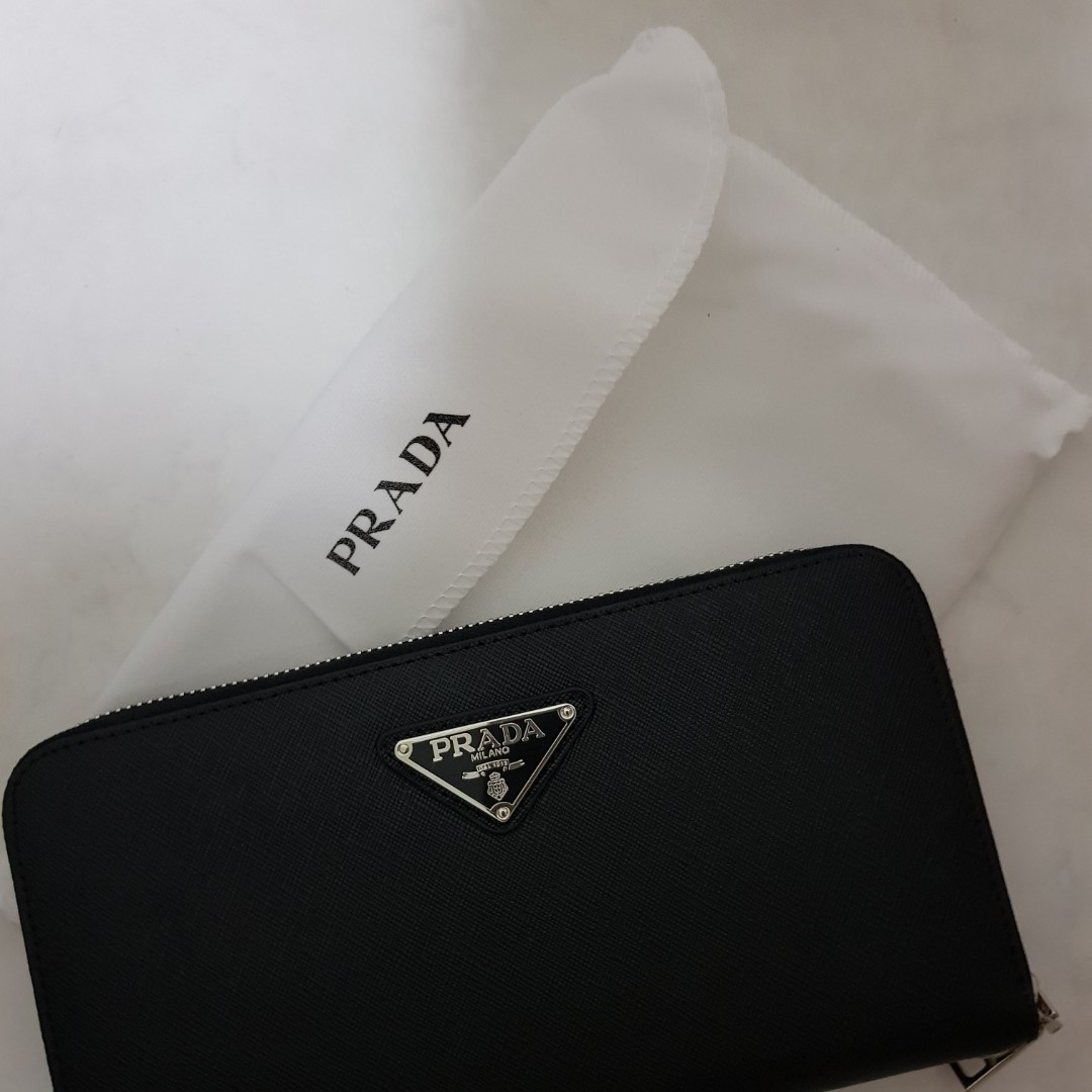 a1fa8ec5a0e4ce Prada Long Wallet, Luxury, Bags & Wallets, Wallets on Carousell