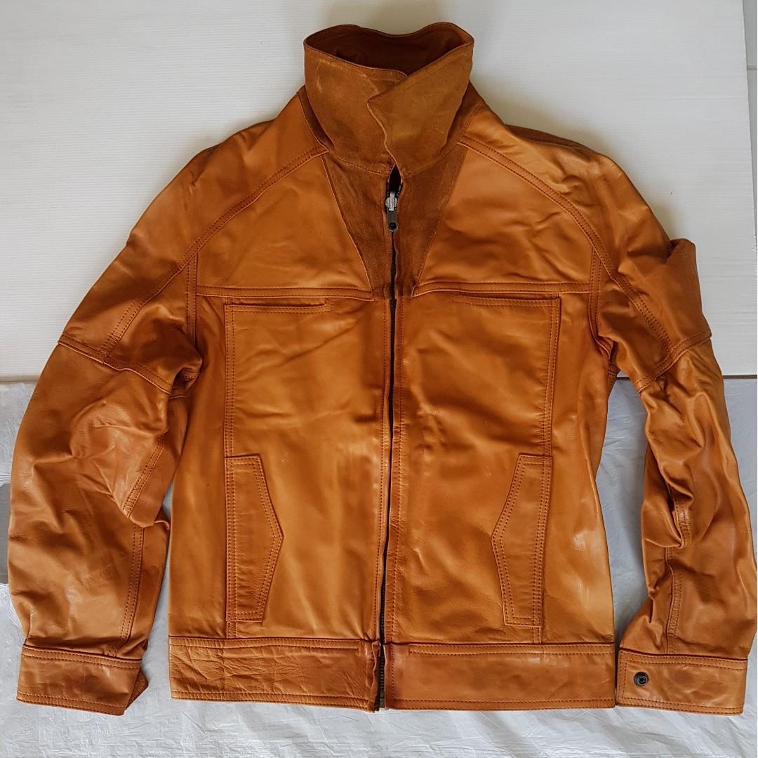 a376f95335712 Retro Classic Leather Jacket, Vintage Fashion, Rare Men Designer ...
