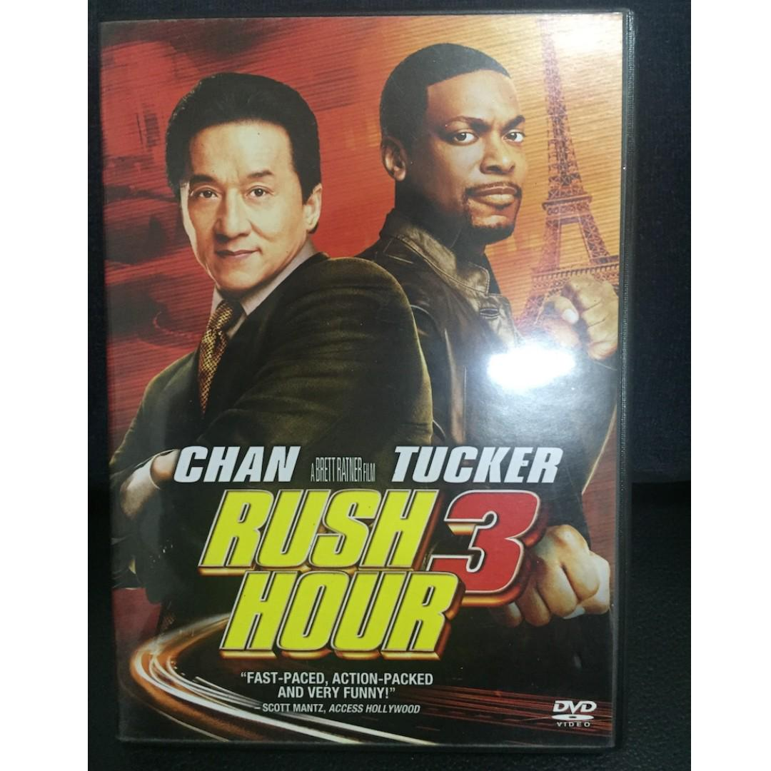 Rush Hour 3 Movie Authentic Dvd Hobbies Toys Music Media Music Accessories On Carousell