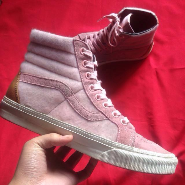 f9fee0c7704b SALE Vans Sk8 Hi   Skate High Pink