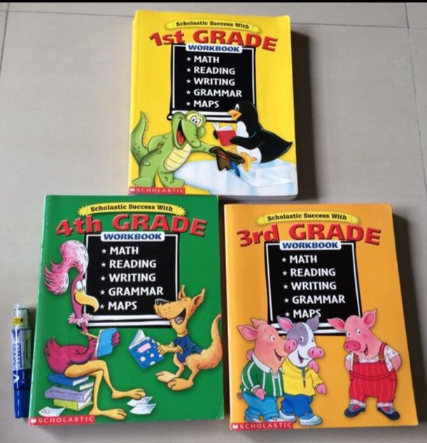 Scholastic Teaching Resources Workbook Books Stationery