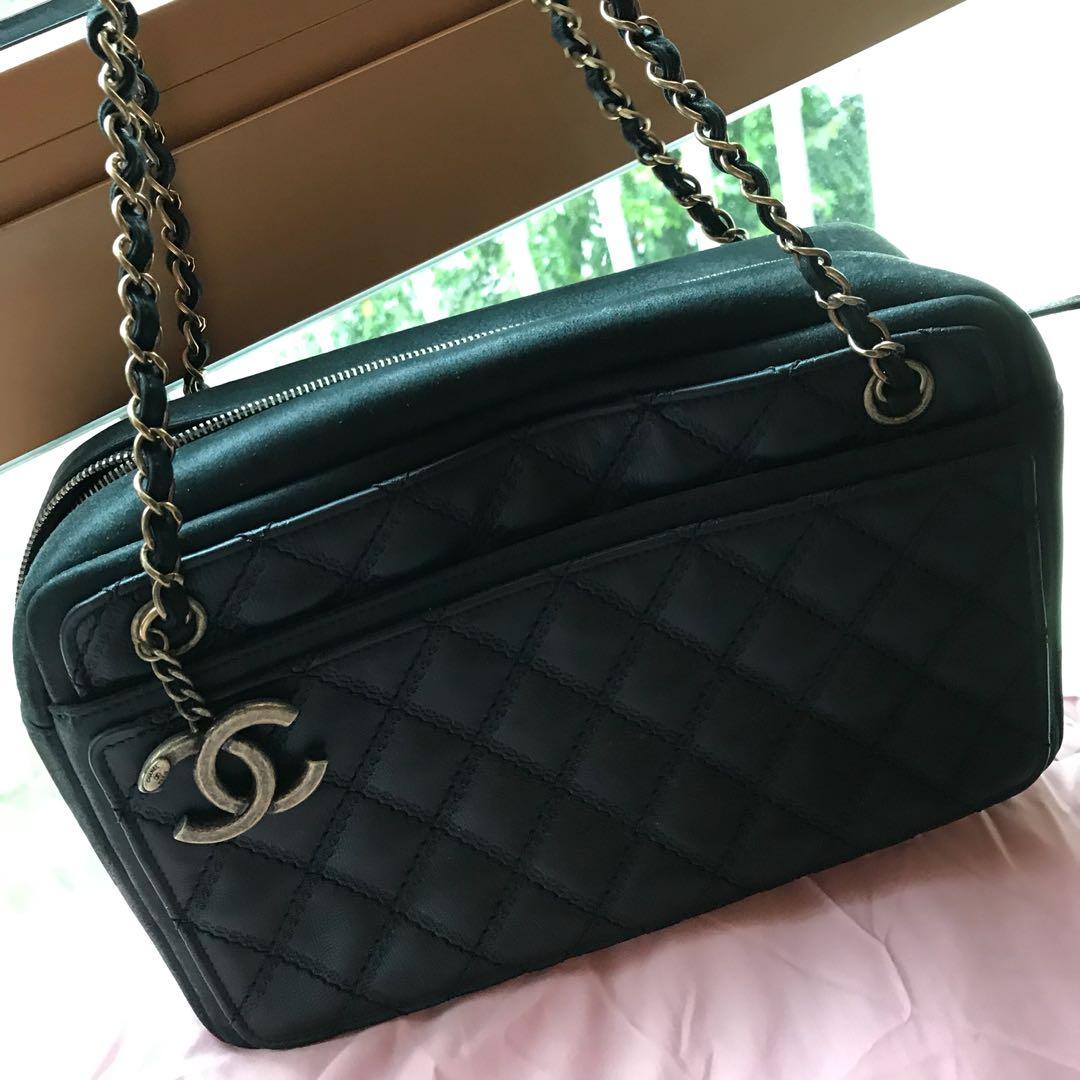 a92431a7b5ca Seasonal Chanel Camera case, Luxury, Bags & Wallets, Handbags on ...