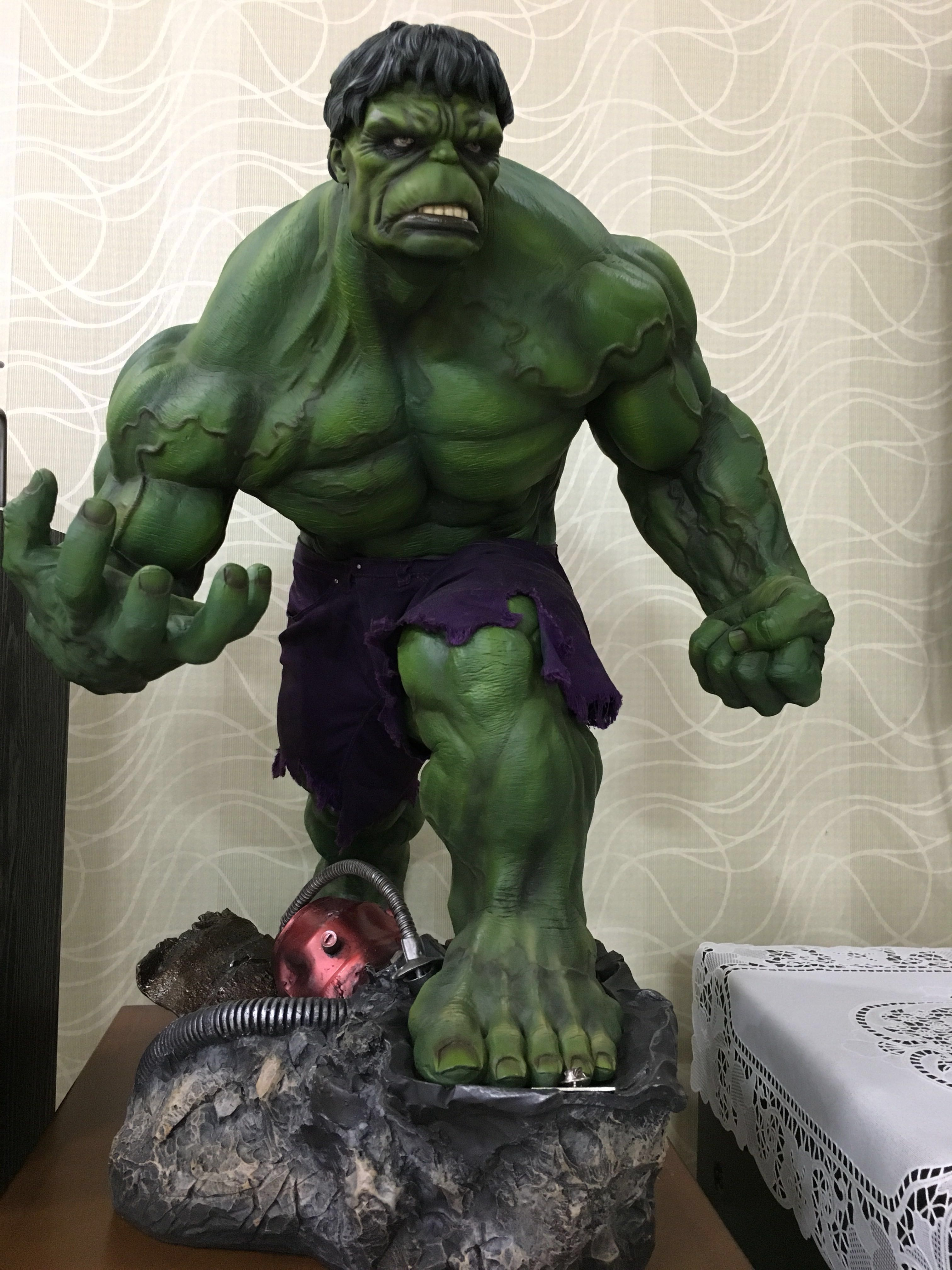 Sideshow Green Hulk Premium Exclusive